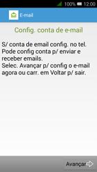 Alcatel Pixi 3 - Email - Configurar a conta de Email -  6