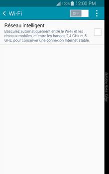 Samsung N915FY Galaxy Note Edge - WiFi et Bluetooth - Configuration manuelle - Étape 5
