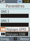 Samsung B2100 Xplorer - Mms - Configuration manuelle - Étape 10