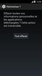 Bouygues Telecom Ultym 5 II - Aller plus loin - Restaurer les paramètres d'usines - Étape 7