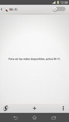 Sony Xperia Z1 - WiFi - Conectarse a una red WiFi - Paso 5