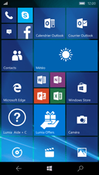 Microsoft Lumia 550 - Internet - configuration automatique - Étape 1
