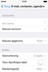 Apple iPhone 4 S iOS 7 - E-mail - Handmatig instellen - Stap 16