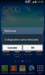 Samsung SM-G3502T Galaxy Core Plus Duo TV - Funções básicas - Como reiniciar o aparelho - Etapa 4