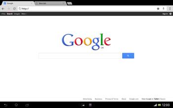 Sony SGP321 Xperia Tablet Z LTE - Internet - Internet browsing - Step 8