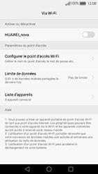 Huawei Nova - Internet et connexion - Partager votre connexion en Wi-Fi - Étape 7