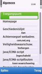 Nokia C6-00 - Internet - handmatig instellen - Stap 19