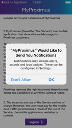 Apple iPhone 5 iOS 9 - Applications - MyProximus - Step 10