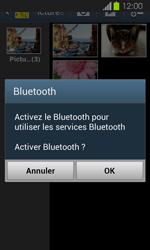 Samsung Galaxy Express - Photos, vidéos, musique - Envoyer une photo via Bluetooth - Étape 11