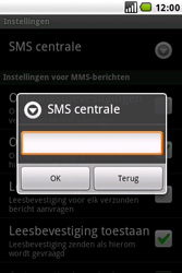 LG GW620 - SMS - handmatig instellen - Stap 7
