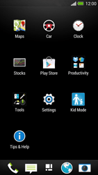 HTC One - Network - Manually select a network - Step 3