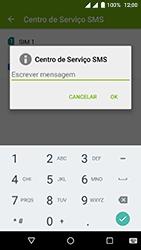 Wiko Fever 4G - SMS - Como configurar o centro de mensagens -  8