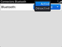 BlackBerry 9360 Curve - Bluetooth - Jumeler avec un appareil - Étape 6