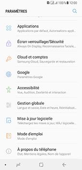 Samsung Galaxy A8 - Sécuriser votre mobile - Personnaliser le code PIN de votre carte SIM - Étape 4