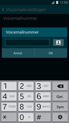 Samsung Galaxy K Zoom 4G (SM-C115) - Voicemail - Handmatig instellen - Stap 7