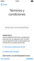 Apple iPhone 5s iOS 10 - Primeros pasos - Activar el equipo - Paso 18