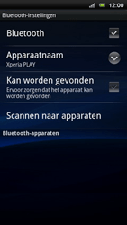 Sony Ericsson Xperia Play - Bluetooth - Headset, carkit verbinding - Stap 6