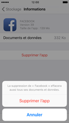 Apple iPhone SE - Applications - Supprimer une application - Étape 8