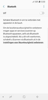 Samsung Galaxy S8 - Android Oreo - Bluetooth - headset, carkit verbinding - Stap 6