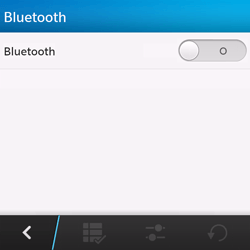 BlackBerry Q10 - Bluetooth - connexion Bluetooth - Étape 8