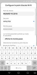 Huawei Y5 (2018) - Internet et connexion - Partager votre connexion en Wi-Fi - Étape 8