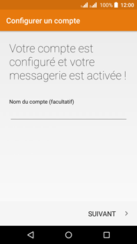 Acer Liquid Z630 - E-mail - Configuration manuelle (outlook) - Étape 12