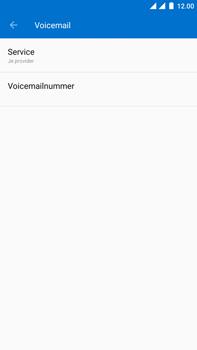 OnePlus 3 - Android Oreo - Voicemail - handmatig instellen - Stap 14