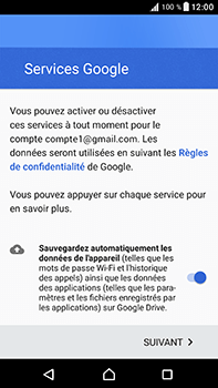 Sony Xperia XA1 Ultra - E-mails - Ajouter ou modifier votre compte Gmail - Étape 13