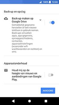 Sony Xperia XA2 Ultra - Applicaties - Account instellen - Stap 17