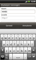 HTC S510b Rhyme - Internet - Internetten - Stap 10