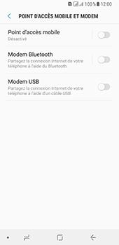 Samsung Galaxy A8 - Internet et connexion - Utiliser le mode modem par USB - Étape 8