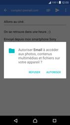 Sony Xperia X Compact (F5321) - E-mail - Envoi d
