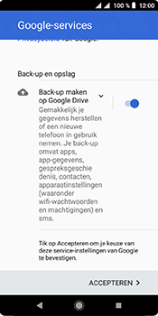 Sony xperia-l3 - E-mail - handmatig instellen (gmail) - Stap 12