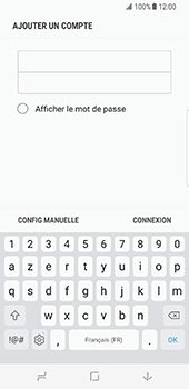 Samsung Galaxy S8 - E-mail - Configurer l