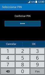 Samsung Galaxy Ace 4 - Segurança - Como ativar o código de bloqueio do ecrã -  10