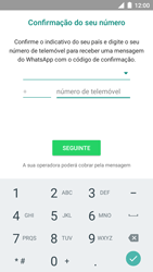 BQ Aquaris U - Aplicações - Como configurar o WhatsApp -  9