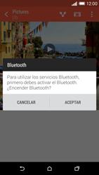 HTC One M8 - Bluetooth - Transferir archivos a través de Bluetooth - Paso 11