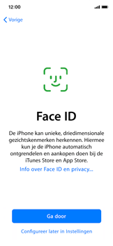 Apple iPhone X - Toestel - Toestel activeren - Stap 11