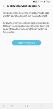 Samsung Galaxy A9 - Toestel reset - terugzetten naar fabrieksinstellingen - Stap 8