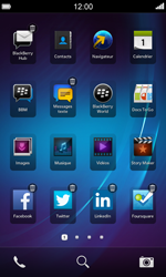 BlackBerry Z10 - Applications - Personnaliser l