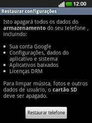 LG E400 - Repor definições - Como repor definições de fábrica do telemóvel -  7
