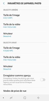 Samsung Galaxy J6 - Photos, vidéos, musique - Créer une vidéo - Étape 8