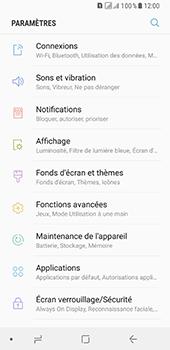 Samsung Galaxy A8 - Internet et connexion - Partager votre connexion en Wi-Fi - Étape 4