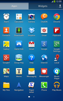 Samsung T315 Galaxy Tab 3 8-0 LTE - Voicemail - Manual configuration - Step 3