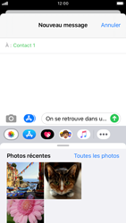 Apple iPhone 8 - iOS 13 - MMS - Envoi d
