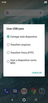 Motorola One - Conexão com pc - Transferir dados do telefone para o computador (Windows) - Etapa 5