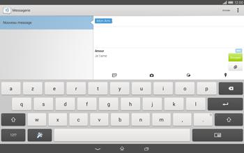 Sony Xperia Tablet Z2 (SGP521) - MMS - envoi d'images - Étape 13