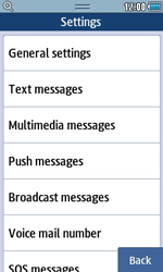 Samsung S5250 Wave 525 - MMS - Manual configuration - Step 14