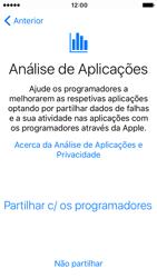 Apple iPhone SE iOS 10 - Primeiros passos - Como ligar o telemóvel pela primeira vez -  23