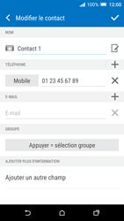 HTC One A9 - Contact, Appels, SMS/MMS - Ajouter un contact - Étape 11